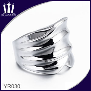 Yr030 High Polished Wide Ring for Man pictures & photos