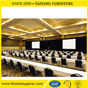 Restaurant Hall Durable Hotel Iron Steel Banquet Chair pictures & photos