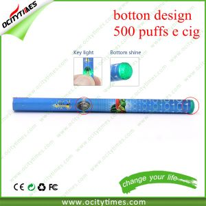 China Supplier Button Design 500 Puffs Disposable E Cigarette with Many Flavors pictures & photos