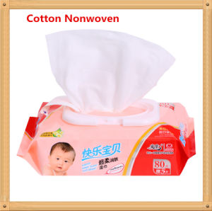 80 PCS Economic Spunlace Non-Woven Baby Care Wet Wipe with Lid pictures & photos