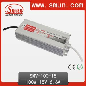 Smun Waterproof 100W 15V LED Driver with 3 Years Warranty pictures & photos