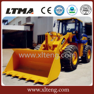 Ltma Articulated Mini Wheel Loader 3t with 1.7m3 Bucket Capacity pictures & photos