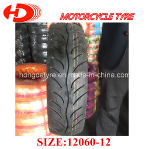 Taiwan Technique Durable Scooter Tyre, Tubeless Tyre, Motorcycle Tyre 120/60-12 pictures & photos