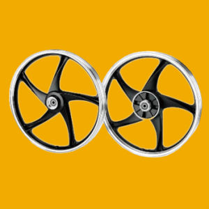 OEM Aluminium Alloy Motorcycle Wheel Rim for Dy100 pictures & photos