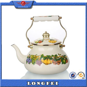 2015 New Products Unique Decorative Russian Enamel Tea Kettle pictures & photos
