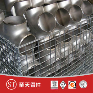 Stainless Steel Pipe Fitting Reducing Tee pictures & photos
