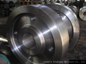 Gear Vehicle Wheel Lacunal Forging pictures & photos