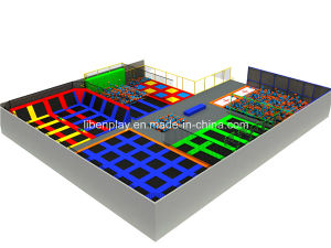 5. Le. B8.606161 Adult Trampolines with Big Foam Pit pictures & photos