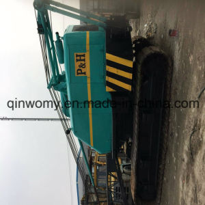 Cheap Lifting Equipment Used 45ton Kobelco P&H Crawler Crane (216kw) pictures & photos
