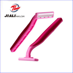 Popular Twin Blade Disposable Shaving Razor Blade pictures & photos