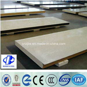 Composite Materials Steel Sheet PU Polyurethane Foam Sandwich Exterior Panels pictures & photos