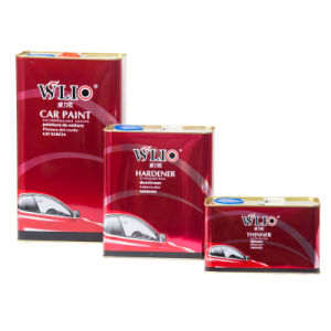 Wlio Auto Paint - Extra Fast Drying Clear Coat and Hardener pictures & photos