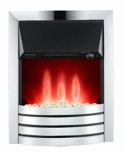 Warmer Electric Fireplace for Home Decoration with Ss Design