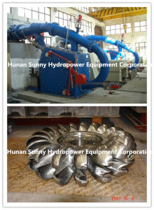 Mini/Micro/Small Pelton and Turgo Hydro Turbine-Generator with Complete Auxiliaries pictures & photos