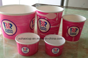 Disposable Paper Ice Cream Cup, Paper Bowl, Paper Container pictures & photos