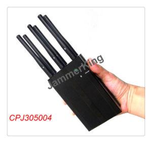 4G Portable Handheld 6 Antennas Jammer; GSM CDMA 2g 3G 4G WiFi Signal Jammer pictures & photos