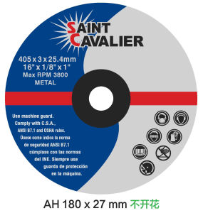 Abrasive Cutting Wheel for Rail 400X4X25.4 pictures & photos
