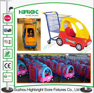 Shopping Mall Kiddy Shopping Trolley Cart pictures & photos