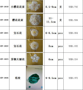 New Rose Shape Sola Flower pictures & photos