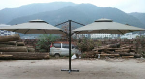 New Design Two Sided Garden Umbrella (BR-GU-200) pictures & photos