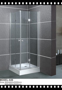 Wholesale Sliding Shower Entry Door Glass Shower Enclosure