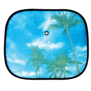 Full Color Printed PVC Car Front Sunshade pictures & photos
