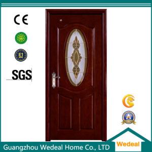 Eco-Friendly Solid Wooden Door Conform to EU E1 (WDHO55) pictures & photos