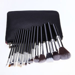 Fashion Brand 15 Pieces Professional Makeup Tools Beauty School Bakeup Brush pictures & photos