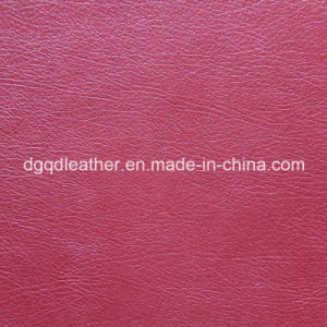Irregualar Grain for Semi-PU Leather (QDL-52014) pictures & photos