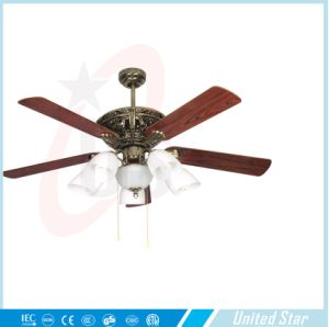 Unitedstar 52′′ Decoration Ceiling Fan (DCF-128) with CE/RoHS pictures & photos