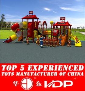 HD2013 Outdoor Fire Man Collection Kids Park Playground Slide (HD13-008A) pictures & photos