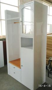 New Design Iron Metal Clothes Hanging Closet Almirah Dressing Wardrobe pictures & photos