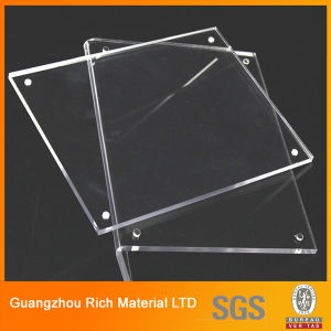 Clear Acrylic Sheet Plastic Perspex Plexigless Sheet for Photo Frame pictures & photos