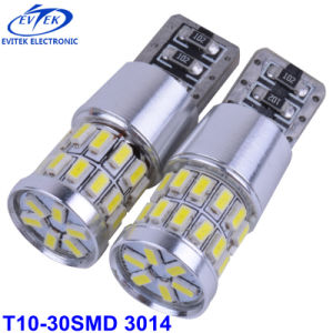 LED Lighting LED Car Light T10 30SMD 3014 Canbus Auto LED Bulb pictures & photos