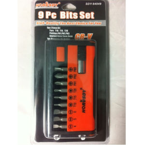 9PC Bits Set Tool Set pictures & photos