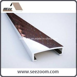High Bright Silver Aluminum Ceramic Listello