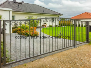 Germany Motor Driven Sliding Gate Design / New Design Iron Gate / Main Iron Gate pictures & photos