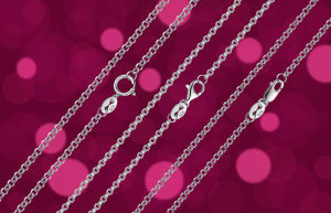 925 Silver Chain, Silver Necklace, Sterling Silver Jewelry Wholesale pictures & photos