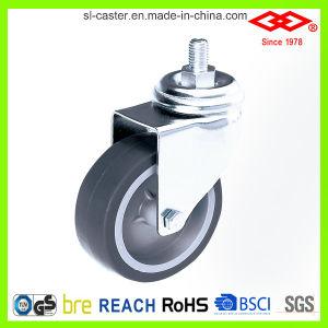 Swivel Screw Instrumental Castor Wheel (L111-34C125X32) pictures & photos