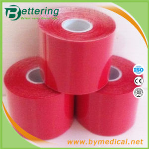5cmx5m Red Colour Kinesio Muscle Tape pictures & photos