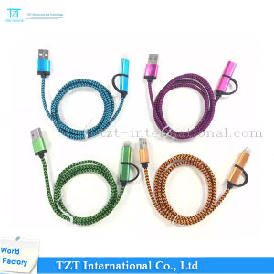 High Quality Mobile Phone Micro USB Cable for Samsung/iPhone (Type-2A1s) pictures & photos