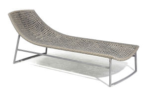 Patio Leisure Sun Bed/Outdoor Sun Lounge/Comfortable Rattan Chaise Lounge (BZ-C032)