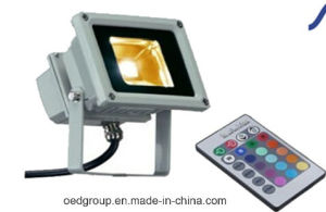 RGB LED Outdoor Flood Light 10W with IP65 pictures & photos