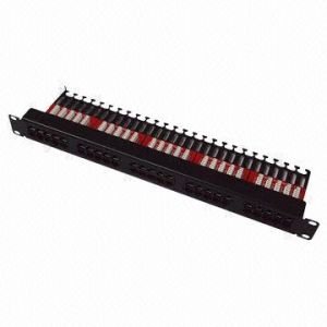 Voice Patch Panel with 25-Port pictures & photos