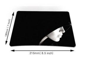 Computer Accessories Logo Print Mouse Pads Promocional pictures & photos