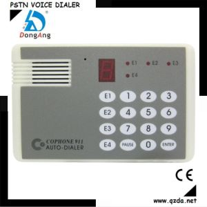 Wired Telephone Line Voice Auto Dialer for Alarm System (CO-911-4)