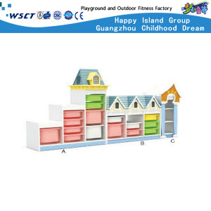 Continental Combination of Plastic Storage Cabinets Children (HC-3201) pictures & photos