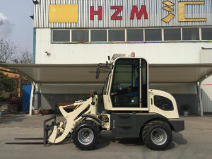 Wl80 Zl08 Jn908 Hzm908 800kg Compact Mini Wheel Loader with EPA Ce Standard pictures & photos