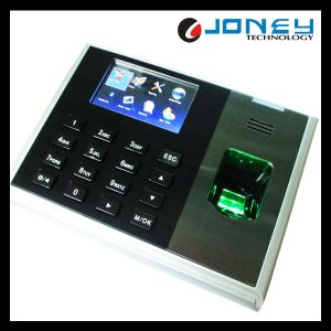 Zk TCP/IP Biometric Fingerprint Time Clock Opened by Fingerprint / Password (JYF-S30) pictures & photos