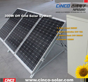 300W Off-Grid Solar Power System, Stand-alone PV Solar Generator for home Used